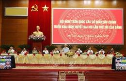 Tổng Bí thư Nguyễn Phú Trọng dự Hội nghị toàn quốc các cơ quan nội chính