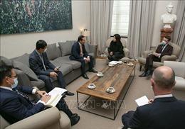 Triển vọng hợp tác trên nhiều lĩnh vực trong quan hệ giữa Việt Nam và Bỉ