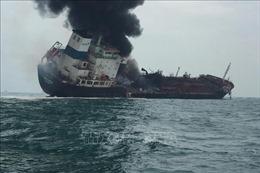 Cháy tàu chở dầu ngoài khơi Hong Kong, Trung Quốc