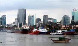 Khắc phục sự cố sập cầu tàu cảng Ba Son