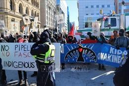 Biểu tình quy mô lớn ở Canada phản đối chính sách năng lượng và môi trường