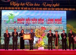 Lễ hội cầu mùa của dân tộc Sán Chay là di sản văn hóa phi vật thể cấp Quốc gia