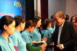 Phó Thủ tướng Trương Hòa Bình dự Tết sum vầy 2019 tại Hải Dương