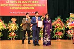 Bổ nhiệm PGS.TS Nguyễn Văn Khải làm Hiệu trưởng Trường Đại học Y Dược Hải Phòng
