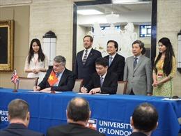 Việt Nam và Anh đẩy mạnh hợp tác giáo dục