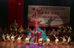 Hợp nhất ba đoàn nghệ thuật thành Nhà hát Nghệ thuật truyền thống Thanh Hóa