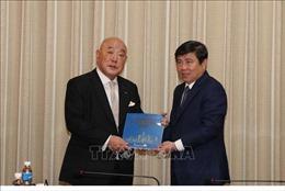 Lãnh đạo TP Hồ Chí Minh tiếp Cố vấn Nội các Chính phủ Nhật Bản