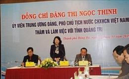 Quảng Trị cần tạo điều kiện tốt cho doanh nghiệp để phát triển kinh tế tư nhân