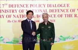 Việt Nam - Hàn Quốc tăng cường hợp tác về quốc phòng