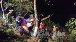 Xe máy lao xuống vực sâu gần 100 m ở Tam Đảo, nam thanh niên tử vong tại chỗ
