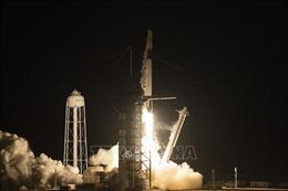 Space X phóng thành công tàu vũ trụ Crew Dragon