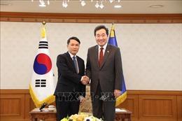 Tổng Giám đốc TTXVN Nguyễn Đức Lợi thăm và làm việc tại Hàn Quốc