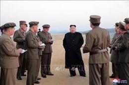 Lãnh đạo Triều Tiên Kim Jong-un thị sát buổi thử nghiệm vũ khí mới