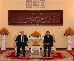 Tổng Bí thư, Chủ tịch nước Nguyễn Phú Trọng: Việt Nam không ngừng củng cố, phát triển quan hệ với Campuchia