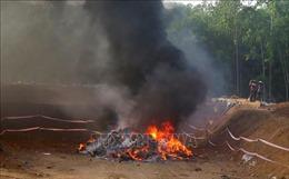 Quảng Ngãi tiêu hủy hơn 10.000 sản phẩm nhập lậu