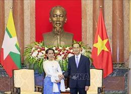 Chủ tịch nước: Việt Nam- Myanmar tăng cường giao lưu nhân dân, đẩy mạnh quan hệ hữu nghị