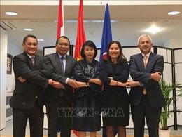 Đại sứ Việt Nam Ngô Thị Hòa chủ trì họp phiên thường kỳ Ủy ban ASEAN