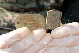 Hai bộ hài cốt từ thời chiến tranh được phát hiện tại biên giới hai miền Triều Tiên