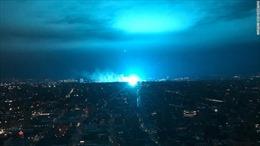 Máy biến thế phát nổ tại nhà máy điện, gây hỏa hoạn lớn