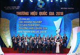 Vinh danh 97 doanh nghiệp đạt 'Thương hiệu Quốc gia'