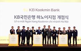 Ra mắt ngân hàng Kookmin chi nhánh Hà Nội