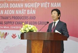Hội thảo 'Kết nối doanh nghiệp Việt Nam với chuỗi cung ứng của Tập đoàn AEON'