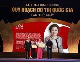 Tập đoàn BRG nhận hàng loạt giải thưởng Quy hoạch đô thị Quốc gia 2018