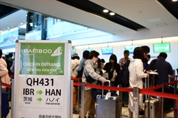 Bamboo Airways đưa những vị khách đầu tiên đến Nhật Bản