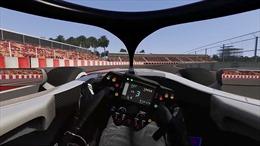 'Lái thử' cỗ xe F1 chạy 300km/h trên đường đua Hà Nội