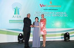 """VinCommerce nhận giải thưởng """"Doanh nghiệp trách nhiệm xã hội châu Á"""""""