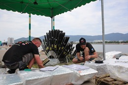 Đội pháo hoa Nga: 'Lễ hội pháo hoa quốc tế Đà Nẵng có công tác tổ chức tốt hàng đầu thế giới'