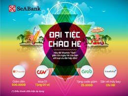 Nhận ngay ưu đãi hấp dẫn tại CGV, Traveloka, Grab, Shopee với thẻ SeABank