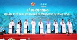 Tập đoàn FLC khởi công quần thể nghỉ dưỡng có quy mô 1.026 ha tại Quảng Ngãi