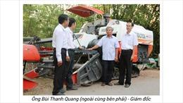 An Giang - trên 1.400 hộ nông dân được Agribank hỗ trợ vốn thực hiện cơ giới hóa nông nghiệp