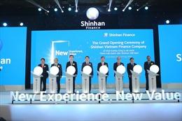 Shinhan Card chính thức ra mắt Shinhan Finance