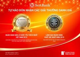 SeABank được vinh danh nhiều giải thưởng quốc tế uy tín