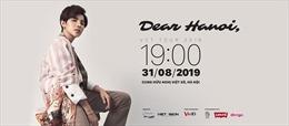 Nhận quà đặc biệt khi săn vé concert 'Dear Hanoi' của Vũ Cát Tường qua VinID