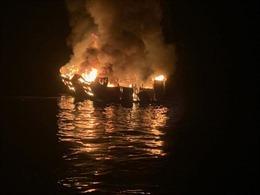 Vụ cháy tàu lặn kinh hoàng tại Mỹ: Đã tìm thấy 25 thi thể