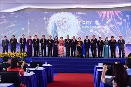 Chính thức động thổ và công bố dự án thành phố thông minh ở phía Bắc Hà Nội