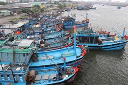 Tin bão khẩn: Bão số 5 di chuyển nhanh, tiến vào đất liền các tỉnh Bình Định - Ninh Thuận