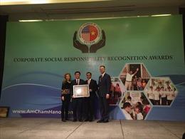 Dow Việt Nam lần thứ năm liên tiếp được AmCham trao tặng Giải thưởng đóng góp vì cộng đồng