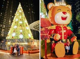 """Cây thông """"siêu cao khổng lồ"""" và cây thông """"biết bay"""" tại TP Hồ Chí Minh"""