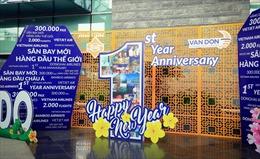 Một năm 'mở cửa bầu trời' đầy dấu ấn của sân bay quốc tế Vân Đồn