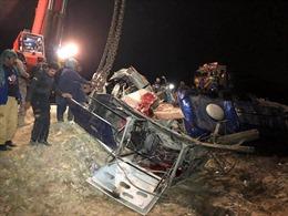 Tai nạn đường sắt nghiêm trọng tại Pakistan, khoảng 20 người thiệt mạng