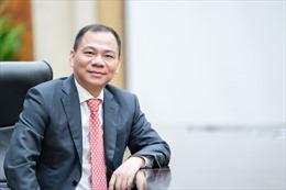 Ông Phạm Nhật Vượng - Tỷ phú Việt Nam duy nhất trong 'bảng vàng' chống dịch của Forbes