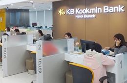 Ngân hàng KB Kookmin – Chi nhánh Hà Nội tăng vốn được cấp lên tới 100 triệu USD để mở rộng hoạt động kinh doanh