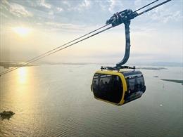 Sun Group khai trương tuyến cáp treo 3 dây hiện đại tại Cát Bà