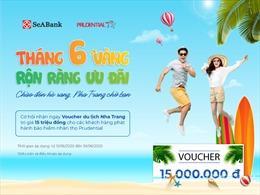 SeABank tặng voucher du lịch nghỉ dưỡng cho khách hàng mua bảo hiểm