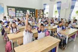 Những giờ uống sữa vui khỏe, an toàn của học sinh TP Hồ Chí Minh