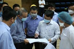 Cận cảnh quá trình thi công bệnh viện dã chiến đầu tiên của Việt Nam được xây dựng theo mô hình lắp modul